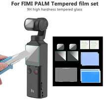 9H Tempered Glass Camera Lens Protector for FIMI Palm Gimbal Camera Anti-Scratch Screen Film PET Soft Film Protective Accessory 2pcs tempered glass screen film protective explosion proof film for fimi palm pocket camera handheld gimbal accessories