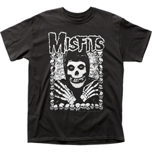 Misfits I Want Your Skulls Classic Adult Tops Tee T Shirt Fa