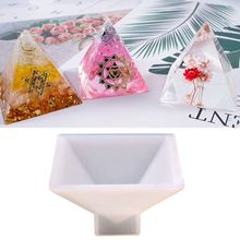 Pyramid Silicone Mould DIY Handmade Decoration Crafts Making Molds Crystal Epoxy Mold