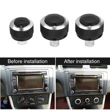 Алюминиевая панель управления для кондиционера автомобиля ручка