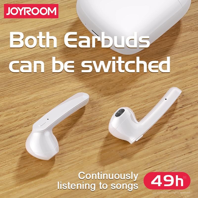 Image 5 - JOYROOM T04S TWS Bluetooth Stereo Noise Earphone Cancelling Wireless Stereo Headset Earbuds With Mic Waterproof HIFI  QualityBluetooth Earphones & Headphones   -