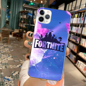 Fortnite Protective Case Game Theme Phone Cover for IPhone 11 Pro XS 8 7 6 Plus Fortress Night Silicone Soft Shell Phone Case 2