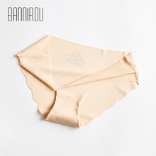 1 Pcs Seamless Panties For Woman Underwear Sexy Briefs Solid Female Panty Hot Sale Women M-XXL BANNIROU
