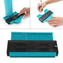 Calibrador de 5/6/10 pulgadas para duplicar perfiles, plantilla de contorno, herramienta de medición para copiar duplicador de contornos de plástico