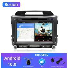 Bosion 2G + 32G أندرويد 10.0 مشغل أسطوانات للسيارة راديو كيا سبورتاج r 2011 2012 2013 2014 2015 سيارة رئيس وحدة الملاحة لتحديد المواقع سيارة ستيريو