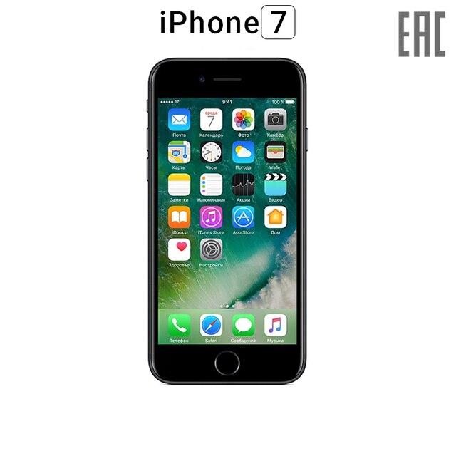 """Смартфон Apple iPhone 7 32GB [официальная гарантия, """"ростест"""", новый, быстрая доставка из Москвы от 1 дня]"""