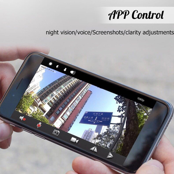 Wireless Hidden Monitor Mini IP WIFI Camera New 5