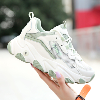 New Arrival Women Running Shoes Non-Slip Sport Trainers For Woman Breathable Athletic Shoes Girl Summer Mesh Ladies Sport Shoe