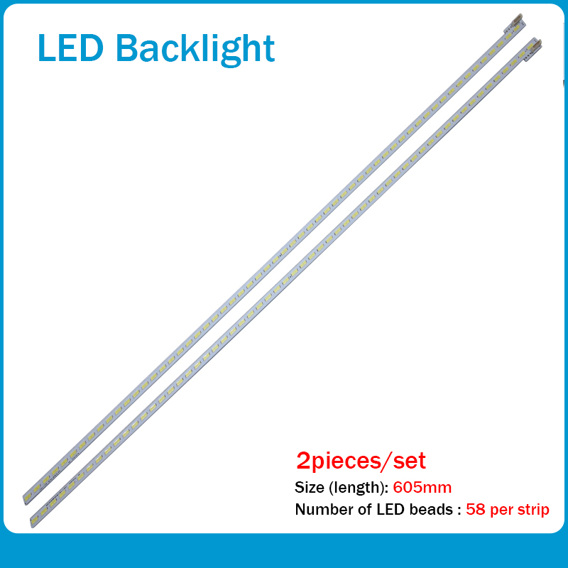 100%New 2Piece/lot  For Sony LED Backlight Strip55
