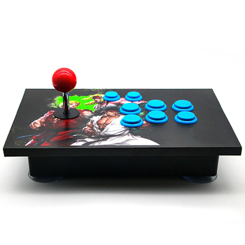 Arcade Joystick 8 Buttons Pc Controller Computer Game Arcade Sticks New King Of Fighters Joystick Consoles Joystick 2019 new king of fighters joystick consoles with multi game pcb board 1300 in 1 pandora box 6 arcade joystick game console