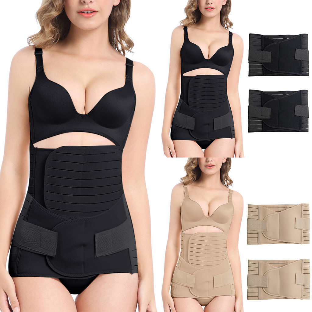 Pregnant Waist Trainer Tummy Waist Control Underbust Slimming Belt Body Shaper Slimming Modeling Strap Belt Maternity Corset