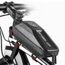 Cycling Waterproof Big Capacity Hard Bike Bag Frame Mobile Phone Eva Top Tube