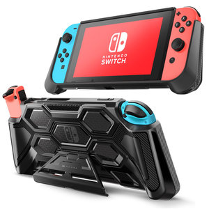 Image 1 - For Nintendo Switch Case Battle Series Mumba Heavy Duty Grip Cover For Nintendo Switch Console with Comfort Padded Hand Grips