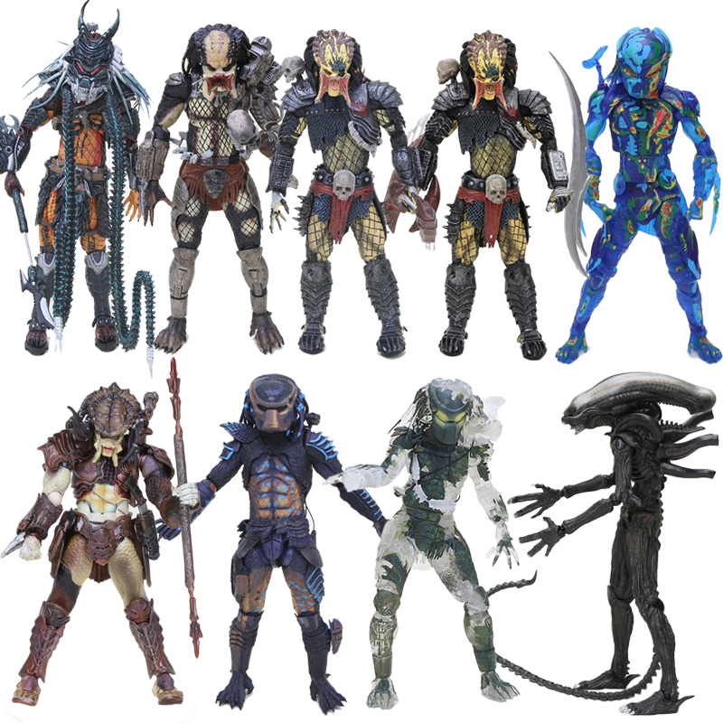Masked Model-Toy Action-Figure-Toys Predator Jungle-Hunter PVC 20cm
