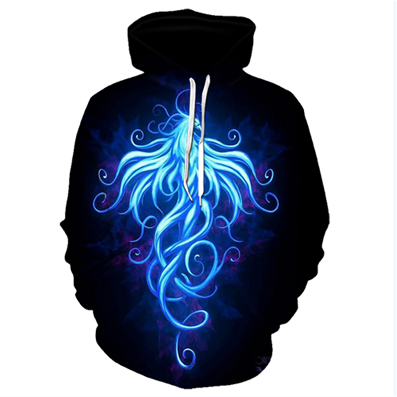 3D Printed Abstract Hoodies Men&Women 49