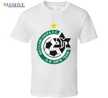 купить Maccabi Haifa F.c. Israeli Premier League Soccer Team Football Club T Shirt дешево