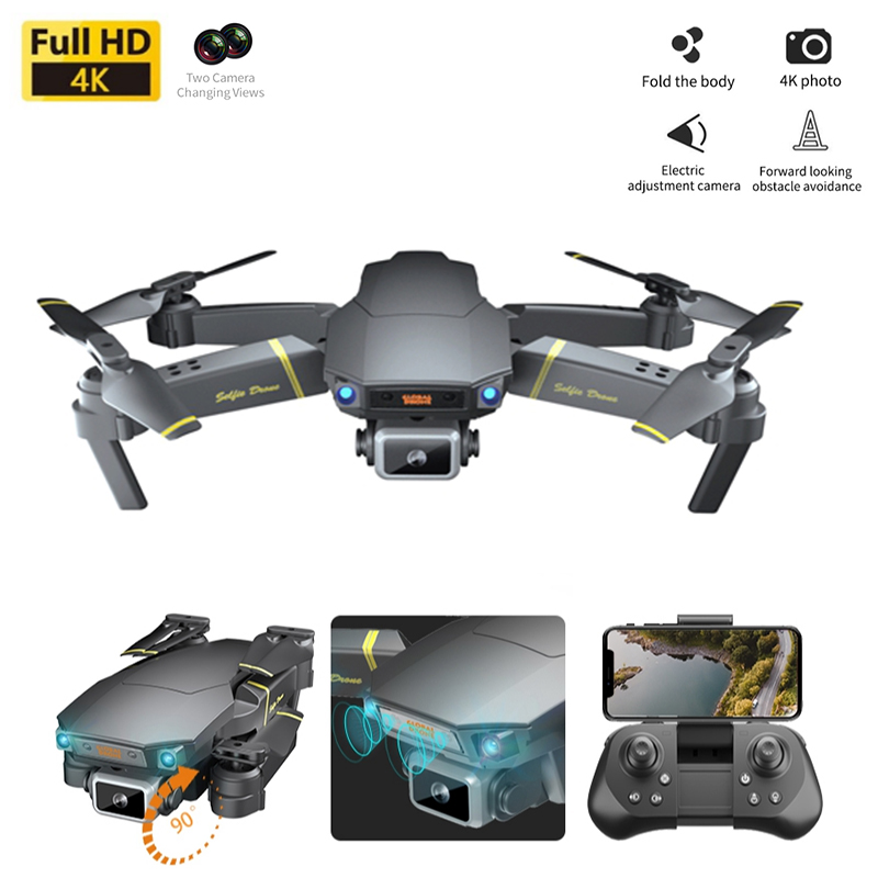 FPV Drones 4K Professional Camera Dron Optical Flow Me RC Quadcopter Wide-angle Camera Drone Toys 1080P HD Wifi Mini Drone Gifts