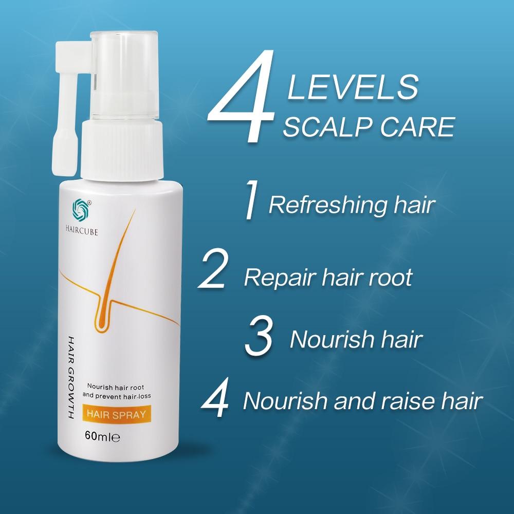 Anti Hair Loss Products Hair Growth Spray Essential Oil Liquid for Men Women Hair Growth Essence Serum Hair Care Repair Growing 4