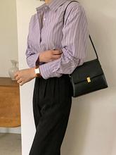Damska torba 2021 nowych moda prosta torba na ramię o dużej pojemności koreański Crossbody Casual Vintage Leather Pack C456 tanie tanio Flap Torby na ramię CN (pochodzenie) Hasp SOFT Na co dzień Poliester Wszechstronny WOMEN Stałe Pojedyncze Brak Kieszeni