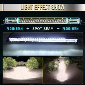 "Image 3 - CO LUCE Super Sottile 12D 8 ""20"" 32 ""LED Bar Spot Flood Fascio di Luce LED Bar per trattore Fuori Strada Barca 4WD 4x4 Camion SUV ATV 12V 24V"