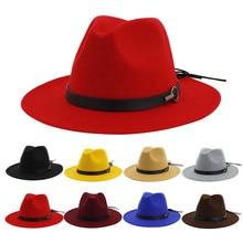 Женские головные уборы в винтажном стиле, широкая шляпа с пряжкой на ремне, Регулируемые головные уборы с защитой от солнца,# D8