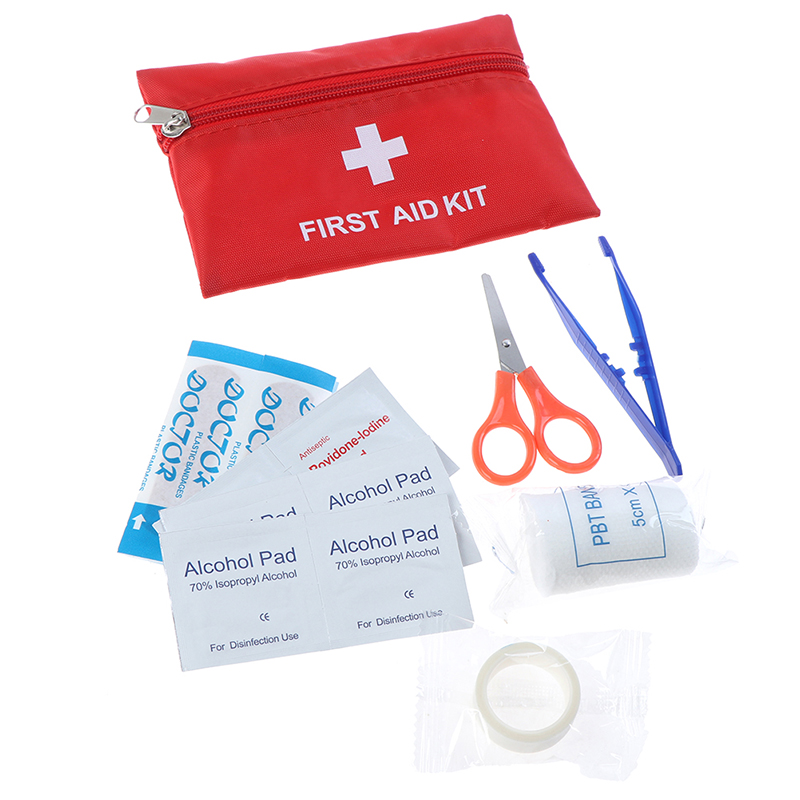 First Aid Bag Outdoor Sports Camping Home Mini Medical Emergency Bag Survival First Aid Kit Bag 16*11cm