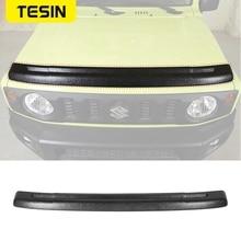 TESIN Car Front Stone Deflector Hood Protection Shield Sand Block Accessories for Suzuki Jimny 2019 2020