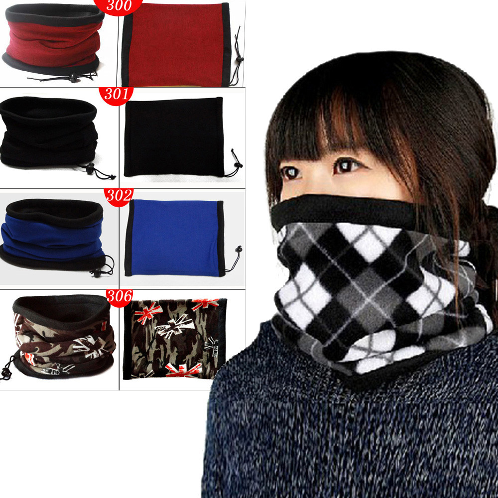 knitted Winter   Scarf   For Women Warm Cashmere   Wraps     scarves   Ski Cycling Snowboard   Scarf   Neck Warmer Face Mask Balaclava Bandana