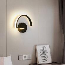 Креативная светодиодсветодиодный настенная лампа в скандинавском