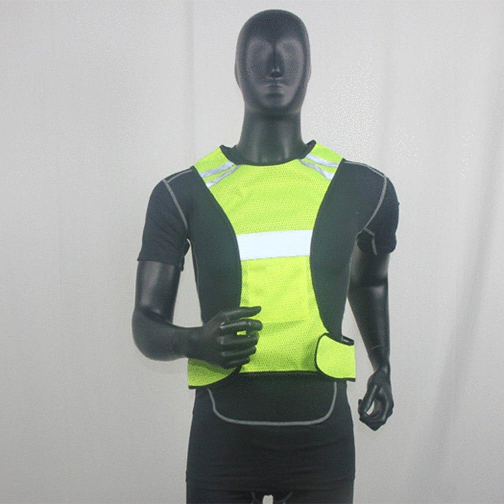 Ropa de trabajo chaleco reflectante de alta visibilidad Unisex