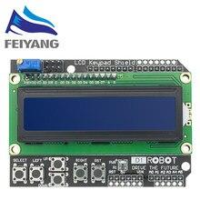 Lcd teclado escudo lcd1602 lcd 1602 módulo display tela azul para arduino