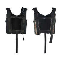 Professional 2mm Diving Weight Vest with Adjustable Straps and 8 Pockets for Weights Loading Weight Vest for Water Sports