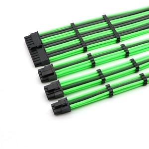 Image 4 - Kit de Cable de extensión básico ATX 24Pin, CPU 4 + 4 pines, GPU 6 + 2 pines, GPU 6Pin Cable de extensión de alimentación.