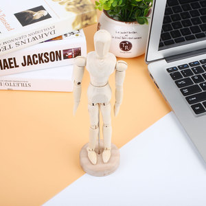 White Flexible Jointed Doll Wo