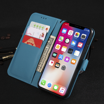 Leather Flip Wallet Case For Samsung Galaxy A10 A12 A20e A31 A02s A40 A41 A50 A51 A52 A70 A71 A21s A3 A5 A6 A7 A8 Protect Cover 2
