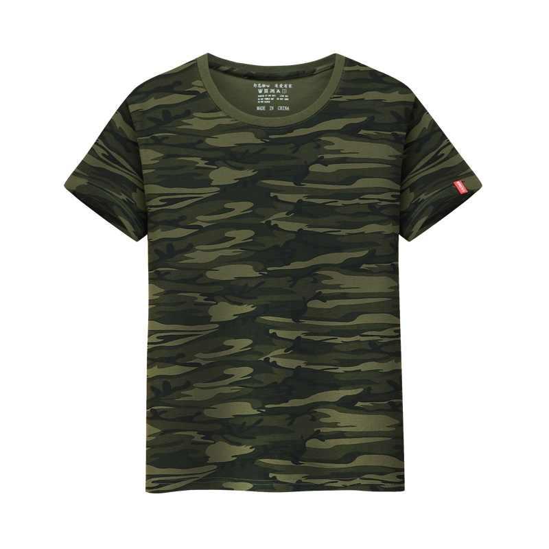 Camisetas de niño LYTLM para niños camisetas de camuflaje envío directo al por mayor bebé niños niñas camiseta Tops Poleras