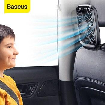 Baseus Cooling Fan Foldable Mini USB Fans Portable Air Cooling Fan for Office Home Travel Car Headrest Desktop Fans
