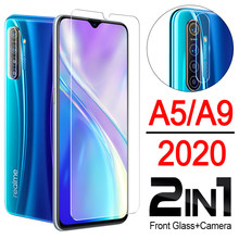 a5 2020 case for oppo a9 a 5 9 phone cover protective A11x 5a 9a oppoa5 oppoa9 with camera protector lens glas sheet len 2in1(China)