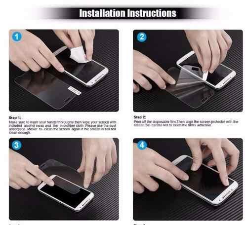 Vidrio templado para DEXP Ixion AS260 B260 B355 BS155 G253 GS155 Protector de pantalla a prueba de explosiones teléfono móvil LCD película