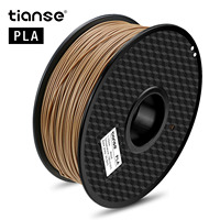 TIANSE 3D Printer Filament Wood PLA 1.75mm Wooden Color 3D Printing Material PLA Wood 3D Printing Materials Supplies