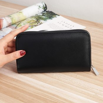 2021 hot sale Women Long Clutch noble Wallet Large Capacity Wallets Female Purse Lady Purses Phone Pocket Card Holder image