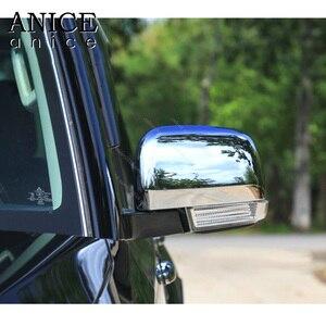 Image 3 - Cubierta cromada para espejo retrovisor lateral, para Mitsubishi PAJERO 2007, 2008, 2009, 2010, 2011, 2012, 2013, 2014, 2015, 2016, 2017, 2018, 2019