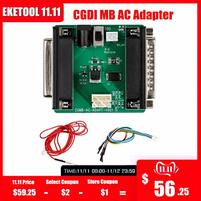 CGDI MB AC Adapter For Data Acquisition Work With Mercedes W164 W204 W221 W209 W246 W251 W166