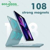 IPad Pro Air 4タブレット用の磁気ケース,キーボード付き,11/2021インチ,2020