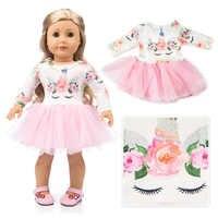 Hermosa ropa de vestir se adapta a la chica americana 18 muñeca americana de niña de regalo de la mejor muñeca