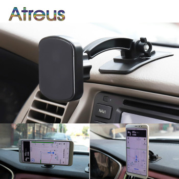 Car Phone Magnetic Stand 360 Rotation Holder for Kia Rio 3 4 Ceed Renault Megane 2 3 Clio 4 Duster Skoda Rapid Octavia A7 A5 image