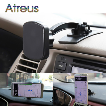 Car Phone Magnetic Stand 360 Rotation Holder for Subaru Forester Impreza Volvo S60 XC90 V40 S80 Nissan Qashqai J11 J10 Juke image