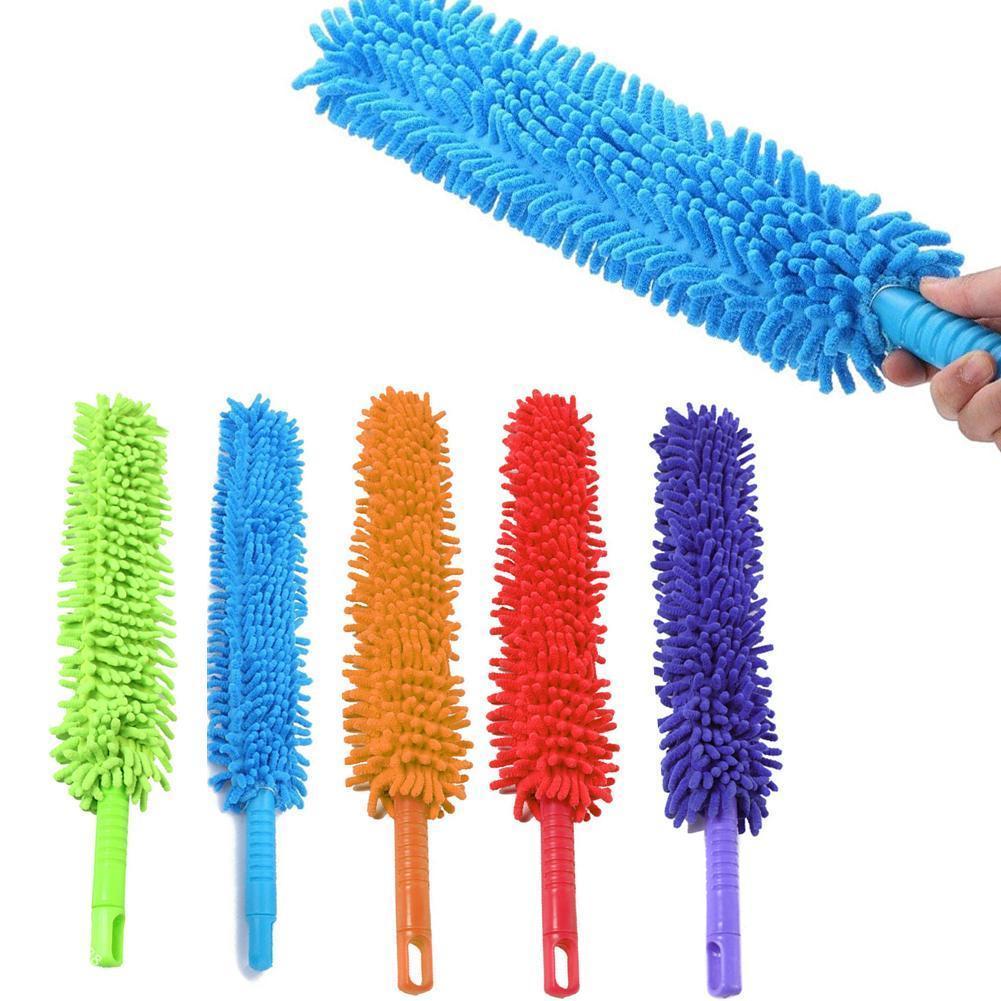 1pcs Car Wheel Rims Tire Washing Brush Soft Microfiber Removal Washing Auto Accessories Brush EVA Handle Car Cleaning Wheel O1S1
