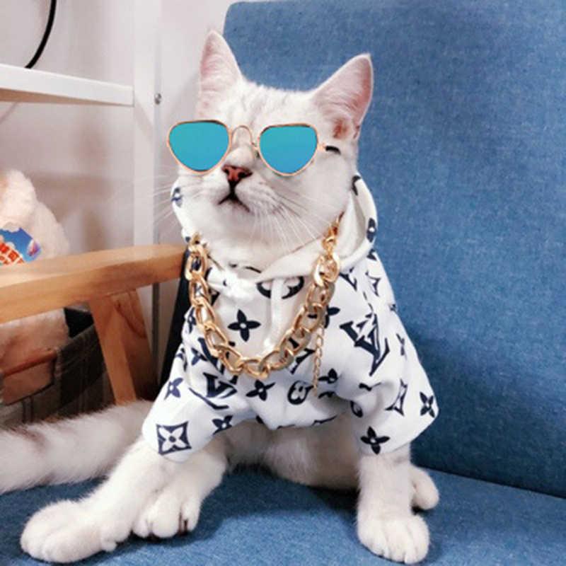 Güzel gözlük kedi evcil hayvan ürünleri göz giyim güneş gözlüğü küçük köpek kedi Pet fotoğrafları sahne aksesuarları en çok satan evcil hayvan ürünler