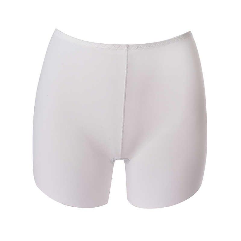 NewNibesser Modal ผ้าไหมน้ำแข็ง Breathable สั้นแน่นผู้หญิงผ้าฝ้ายไม่มีรอยต่อความปลอดภัยกางเกงสั้นฤดูร้อนภายใต้กระโปรงกางเกงขาสั้น